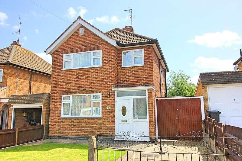 3 Bedrooms Detached House for sale in Heathfield Road, Wigston
