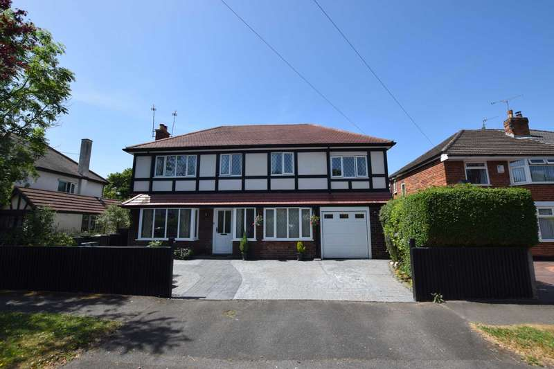 5 Bedrooms Detached House for sale in Dale Hey, Hooton