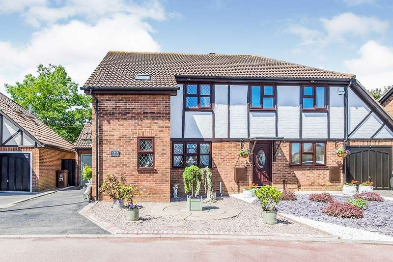 3 Bedrooms Semi Detached House for sale in Shepherds Gate, Hempstead, Gillingham, Kent, ME7