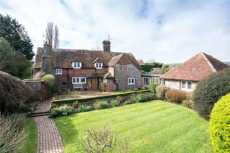 5 Bedrooms Detached House for sale in The Street, Rodmell, Lewes, BN7