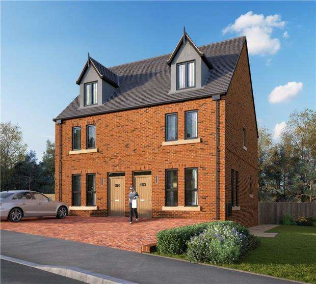 3 Bedrooms Semi Detached House for sale in Station Road, Delamere, Northwich