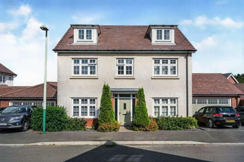 5 Bedrooms Detached House for sale in Blacksmith Close, Oakdale, Blackwood