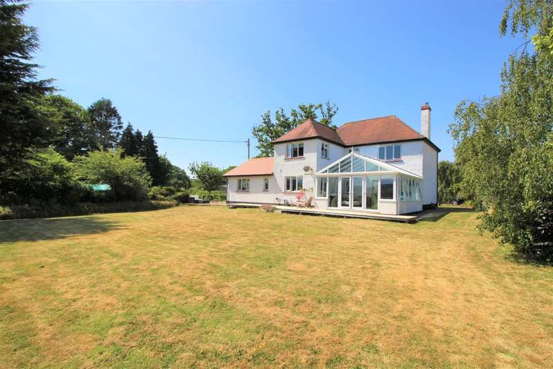 4 Bedrooms Detached House for sale in Buckerell, Honiton