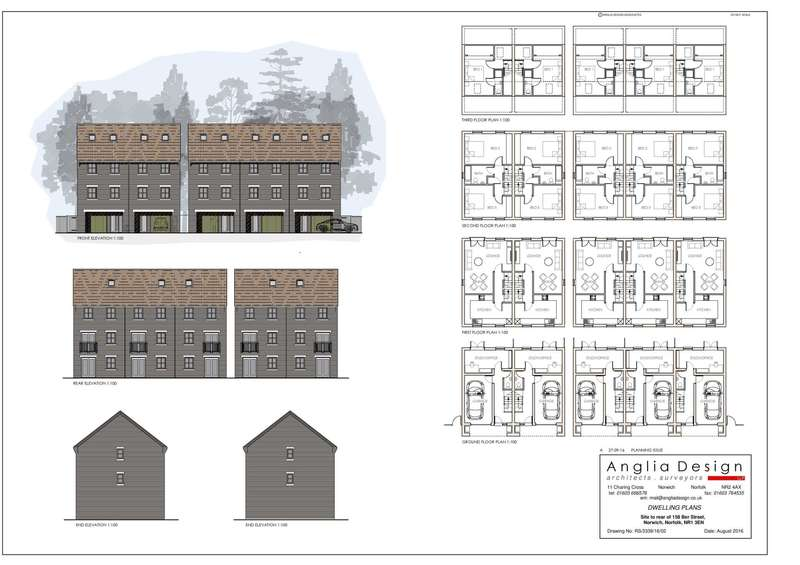 4 Bedrooms Land Commercial for sale in Lily Terrace, Ber Street, Norwich