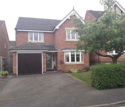 4 Bedrooms Detached House for sale in Fern Ley Close, Market Harborough, Leicester, Leicestershire