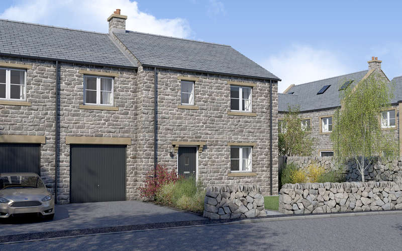 4 Bedrooms Semi Detached House for sale in The Stanton, Bradwell Springs, Hope Valley, Peak District