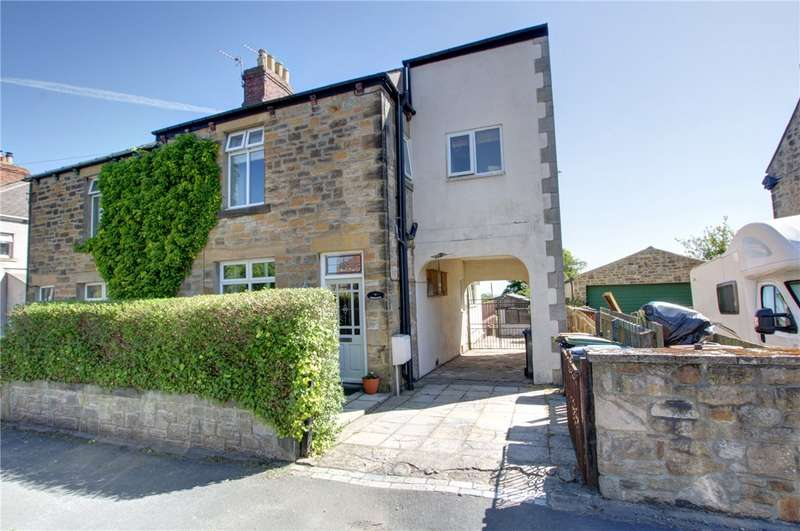 3 Bedrooms Semi Detached House for sale in The Villas, Harelaw, Stanley, DH9