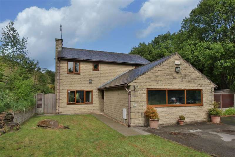 4 Bedrooms Detached House for sale in Grove Cottages, Todmorden Road, Littleborough, OL15 9PH