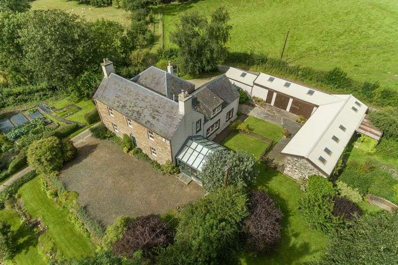 5 Bedrooms Property for sale in Lindean Farmhouse, Lindean, Selkirk