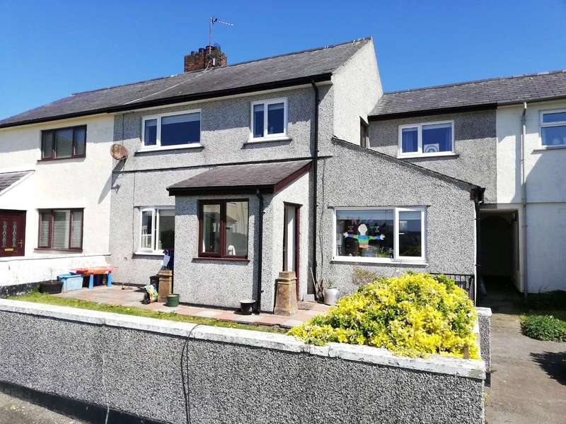 4 Bedrooms Semi Detached House for sale in School Lane, Llanbedrgoch, Anglesey, LL76