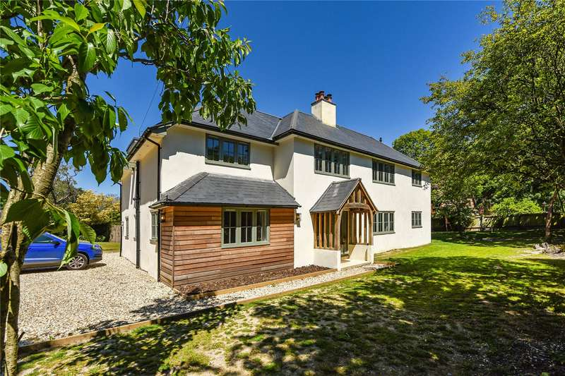 5 Bedrooms Detached House for sale in Sway Road, Lymington, Hampshire, SO41