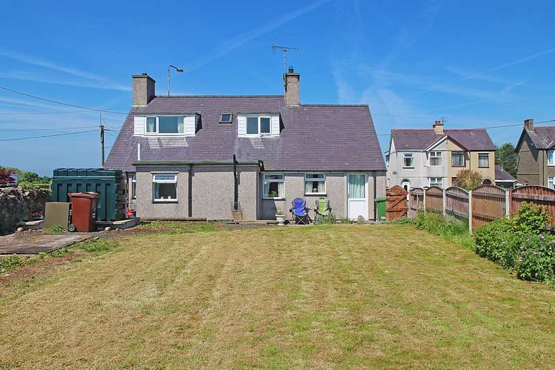 3 Bedrooms Detached House for sale in Dinas, Caernarfon, Gwynedd, LL54