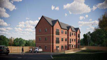 2 Bedrooms Flat for sale in Sussex Road Apartments, Sussex Road, Chapel Town, Sheffield
