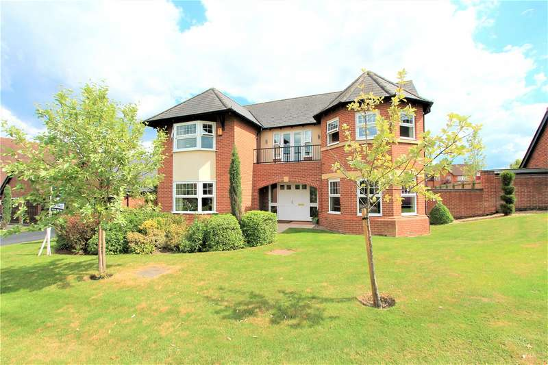 5 Bedrooms Detached House for sale in Springwater Drive, Weston, Crewe, Cheshire, CW2