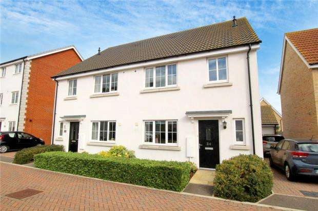4 Bedrooms Semi Detached House for sale in Hedge Sparrow Road, Stowmarket, Suffolk