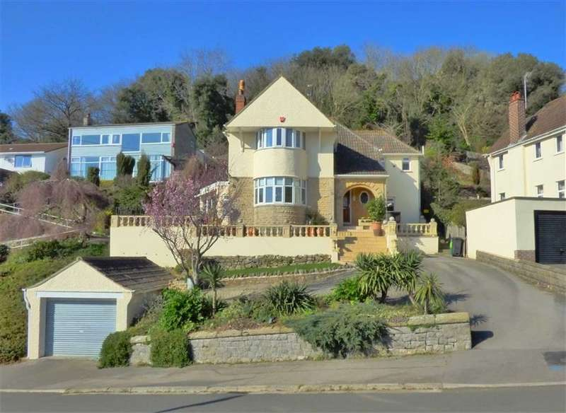 4 Bedrooms Detached House for sale in HILLSIDE LOCATION WITH STUNNING VIEWS
