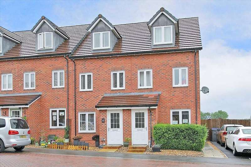 3 Bedrooms Terraced House for sale in Hedge Lane, Tidworth