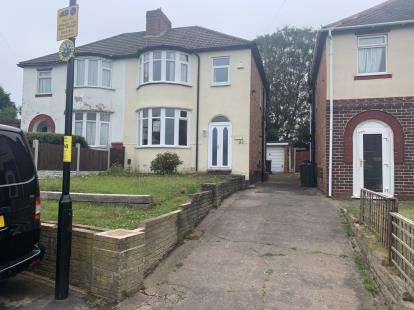3 Bedrooms Semi Detached House for sale in Fairford Road, Kingstanding, Birmingham