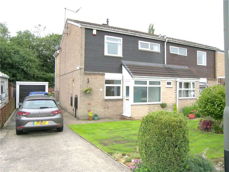 3 Bedrooms Semi Detached House for sale in Derwent Grove, Alfreton, Derbyshire, DE55
