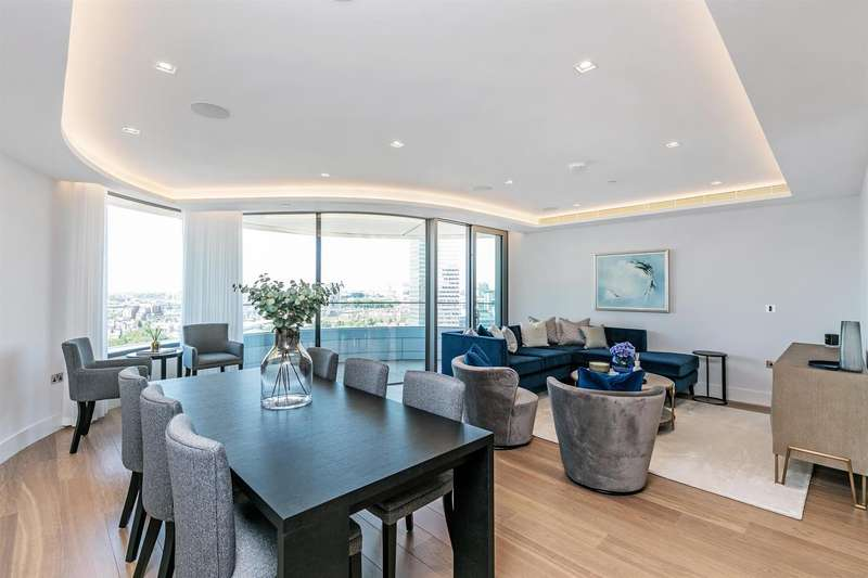 3 Bedrooms Flat for sale in Tower Two, The Corniche, 23 Albert Embankment, London SE1