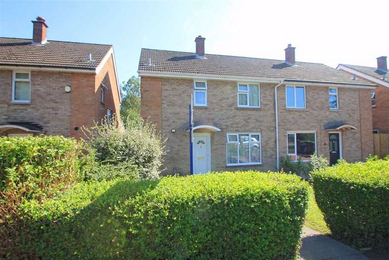 3 Bedrooms Semi Detached House for sale in Needwood Road, Bedford