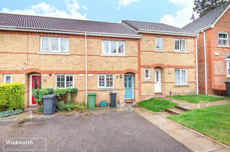 2 Bedrooms Terraced House for sale in Hathaway Gardens, Basingstoke, RG24