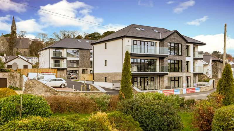 3 Bedrooms Penthouse Flat for sale in Min Y Don, Water Street, Menai Bridge, Anglesey, LL59
