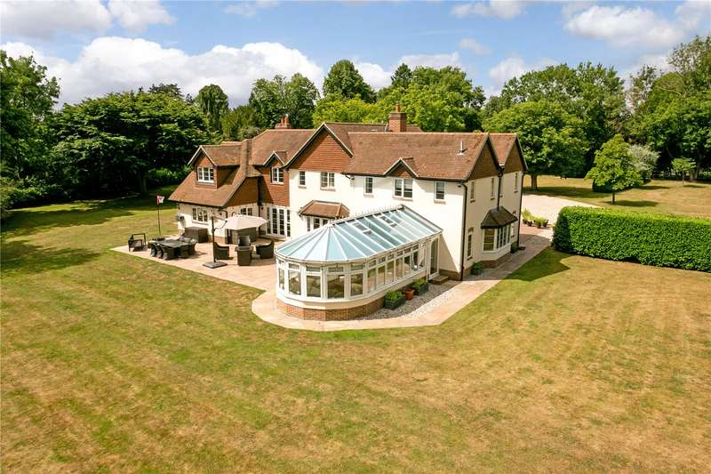 6 Bedrooms Detached House for sale in Bramley Road, Silchester, Reading, Hampshire, RG7