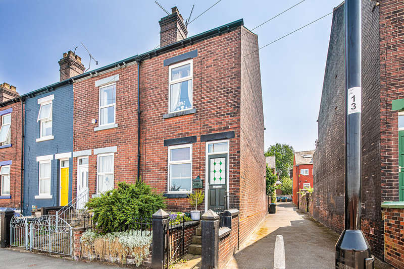 3 Bedrooms End Of Terrace House for sale in Olive Grove Road, Heeley