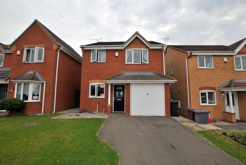 3 Bedrooms Detached House for sale in Ashton Road, Clay Cross, Chesterfield, S45 9FA