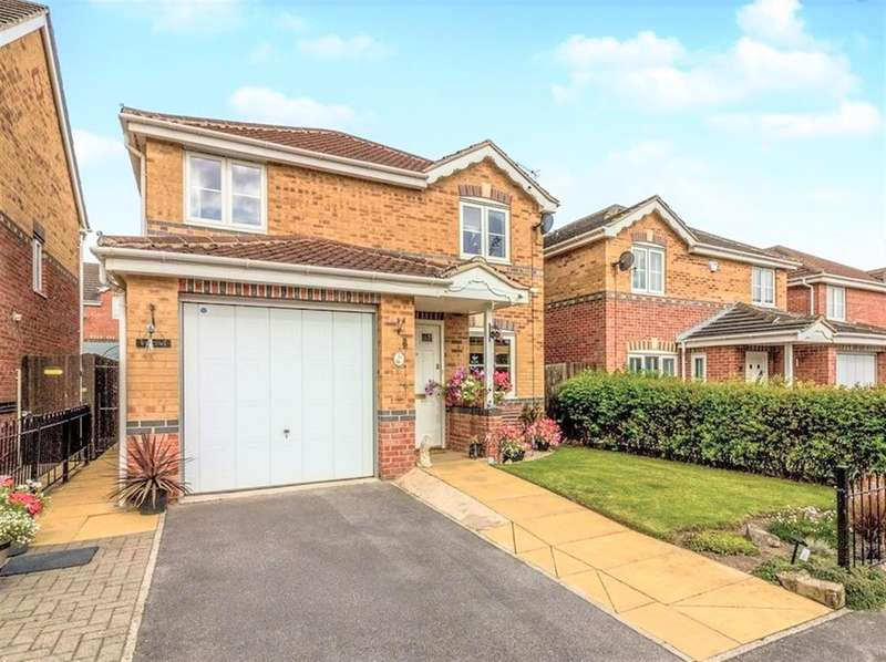 4 Bedrooms Detached House for sale in Park Crescent, Bolton-upon-Dearne, Rotherham, S63 8NU
