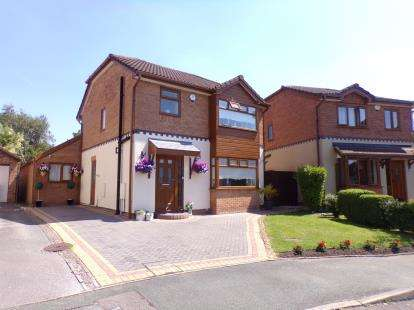 3 Bedrooms Detached House for sale in Cardiff Close, Great Sutton, Ellesmere Port, ., CH66