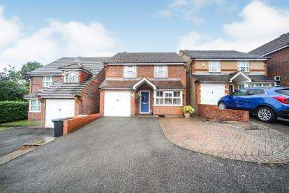 3 Bedrooms Detached House for sale in Willoughby Close, Dunstable, Bedfordshire