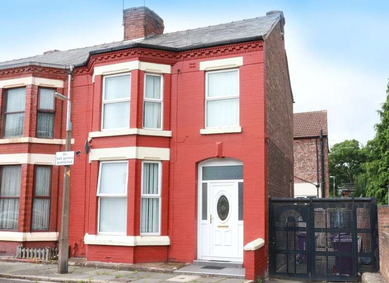 3 Bedrooms End Of Terrace House for sale in Lunesdale Avenue, Aintree, Merseyside, L9