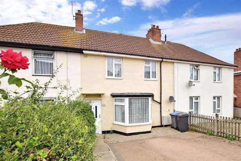 3 Bedrooms Terraced House for sale in Queens Road, , Aylesham, Canterbury, Kent