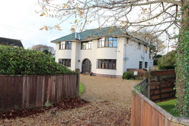 4 Bedrooms Detached House for sale in Chestnut Avenue, Barton-On-Sea, New Milton, Hampshire, BH25 7BH