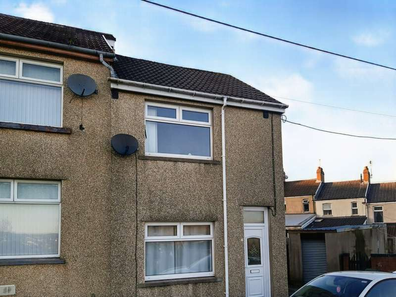 2 Bedrooms End Of Terrace House for sale in St Annes Crescent, Bargoed