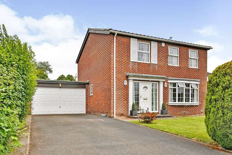 4 Bedrooms Detached House for sale in Longdean Park, Chester Le Street, DH3