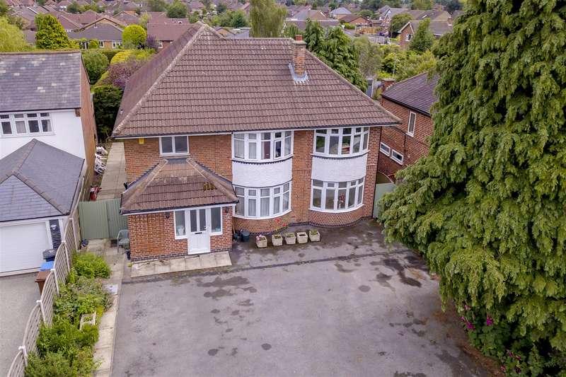 4 Bedrooms Detached House for sale in Longmoor Lane, Breaston