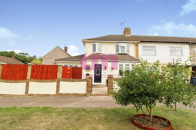 4 Bedrooms End Of Terrace House for sale in Hamble Lane, South Ockendon