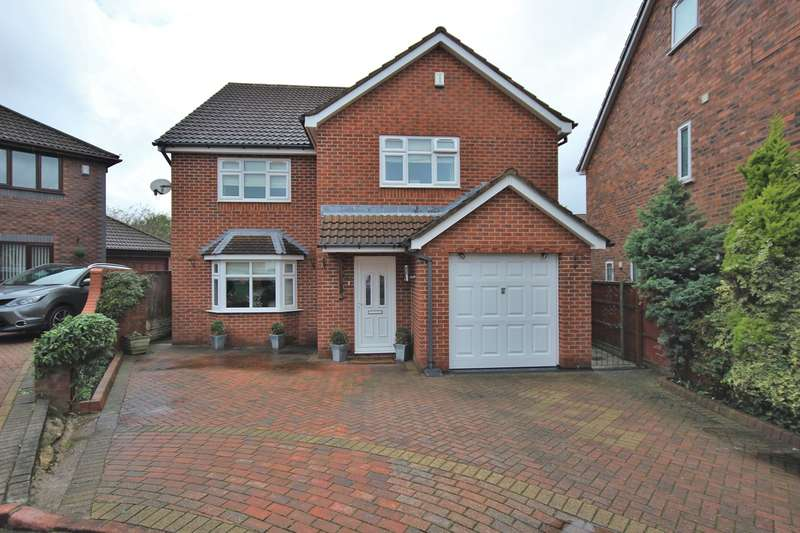 4 Bedrooms Detached House for sale in Cedardale Park, Widnes, WA8