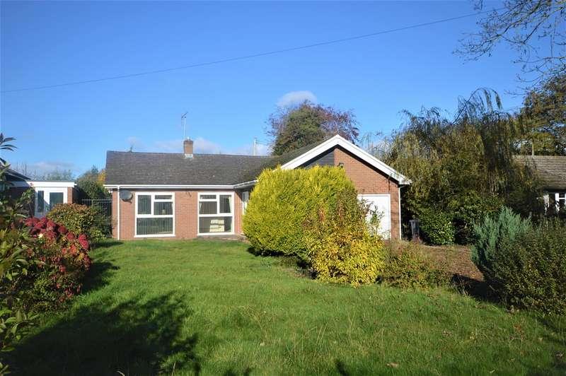 3 Bedrooms Detached Bungalow for sale in Newlands Drive, Leominster