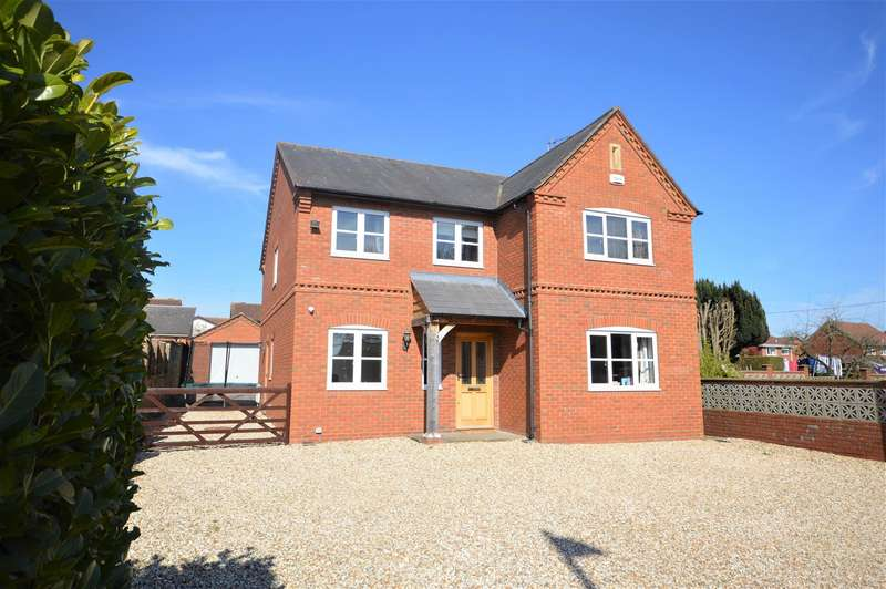 4 Bedrooms Detached House for sale in Barons Cross Road, Leominster