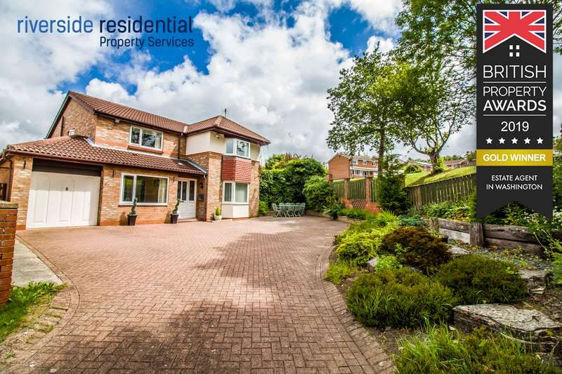 5 Bedrooms Detached House for sale in Baysdale, Mount Pleasant, Houghton le Spring