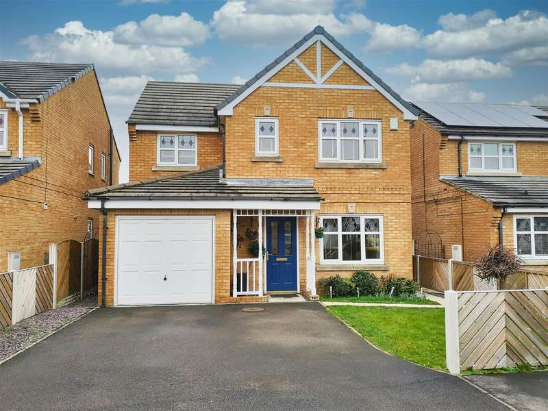 4 Bedrooms Detached House for sale in Merefield Way, Castleford