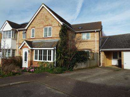 4 Bedrooms Semi Detached House for sale in Stretham, Ely, Cambridgeshire