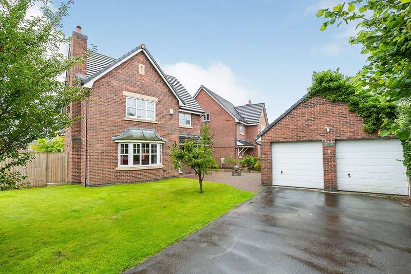 5 Bedrooms Detached House for sale in Hedgerows Road, Leyland, PR26