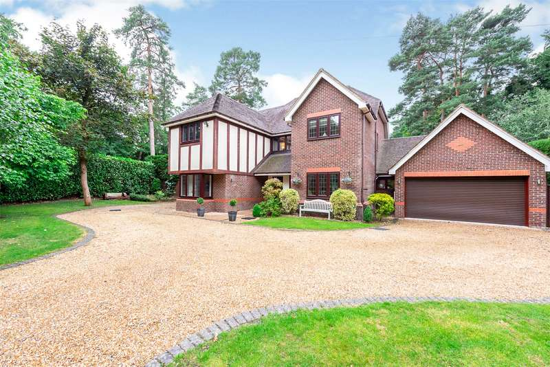 5 Bedrooms Detached House for sale in Upper Chobham Road, Camberley, Surrey, GU15