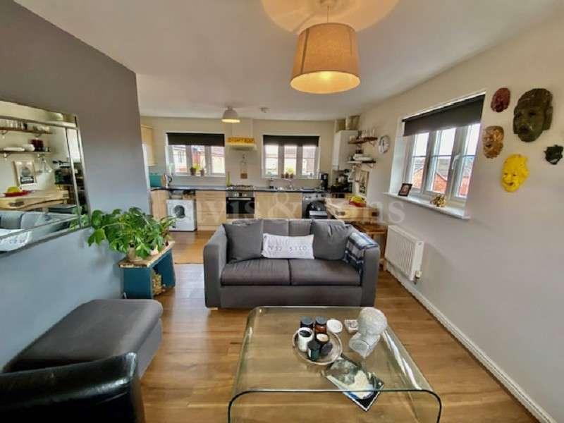 2 Bedrooms Flat for sale in Argosy Way, Newport. NP19 0LE