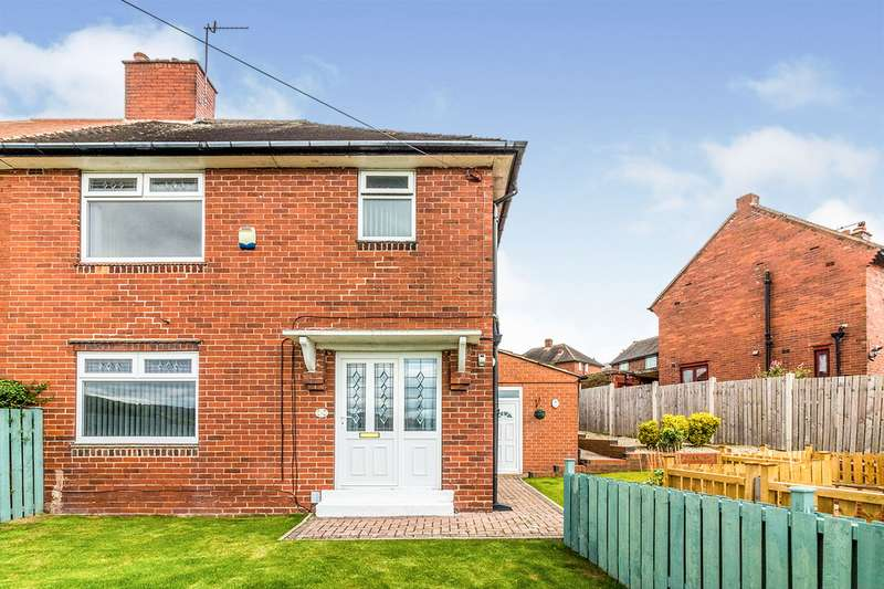 3 Bedrooms Semi Detached House for sale in Chase Road, Loxley, Sheffield, South Yorkshire, S6